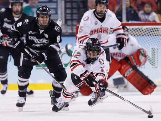 NCAA Hockey: Frozen Four-Omaha vs Providence