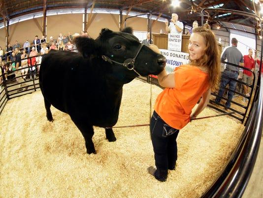 she n Sheboygan County Fair