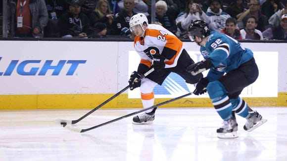 Matt Read is one of the many Flyers forwards that need to get it going.