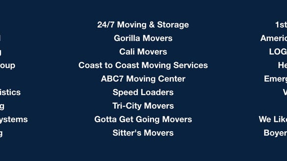 San Diego Movers Refusing To Help Chargers Move