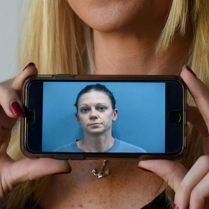 Brianna Byrnes, of Port St. Lucie, shares her arrest