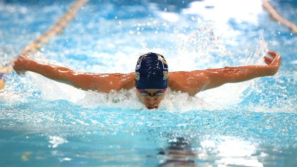 Roberson's Erwin Ortiz is the Citizen-Times All-WNC Boys Swimmer of the Year.