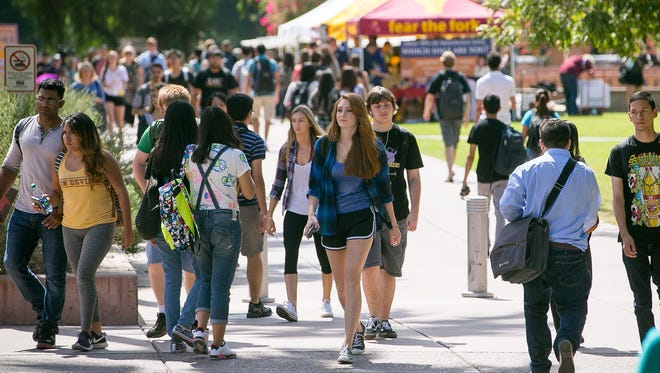 College students at Arizona State University (pictured), University of Arizona and Northern Arizona University may see increases in tuition.