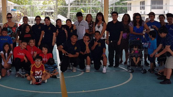 The Guam Allied Dance Force Dance Delegates connected with their civic engagement by performing for the Autism Community Together general meeting and Easter Egg Hunt at the Sinajana Community Center on March 18. The FBLG Dance Club and DanzJazz Entertainment Company Ladybirds represented and performed on behalf of the Guam Allied Dance Force. Present were Josephine Blas, ACT President, C'zer Medina, ADF President and the ACT Family with the ADF dancers.