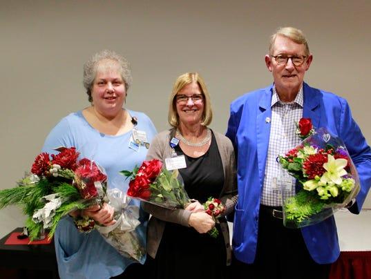 Hunterdon Healthcare awards three with The Wescott Award PHOTO CAPTION