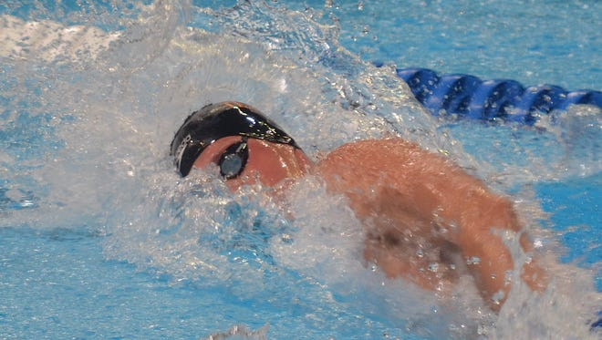 Lakeview grad Clay Youngquist swims to 20th place in the 200-meter freestyle prelims at the U.S. Olympic Swimming Trials in Omaha, Neb., on Monday morning. Youngquist's time did not earn him a place in the semifinals.