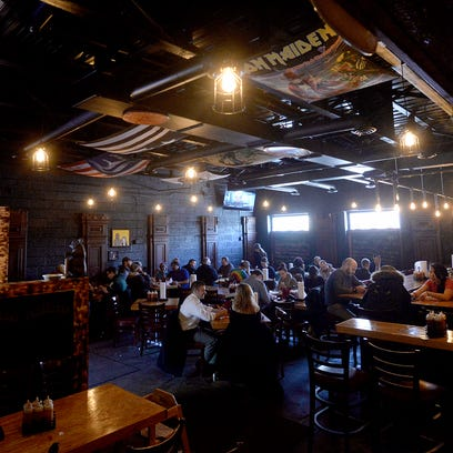 The new, expanded dining area at Meat Southern B.B.Q.