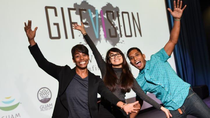 Guam International Film Festival organizers pose for