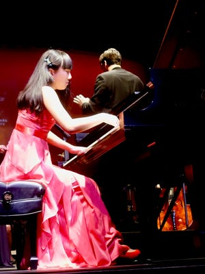Steinway competition winner Isabella Cao.