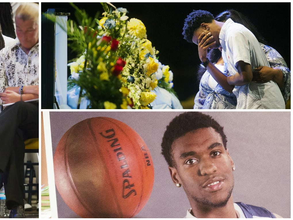 Scenes from Stef'An Strawder's funeral Saturday at New Life Assembly of God in Lehigh Acres. Strawder was killed recently in the Club Blu nightclub shooting in Fort Myers.