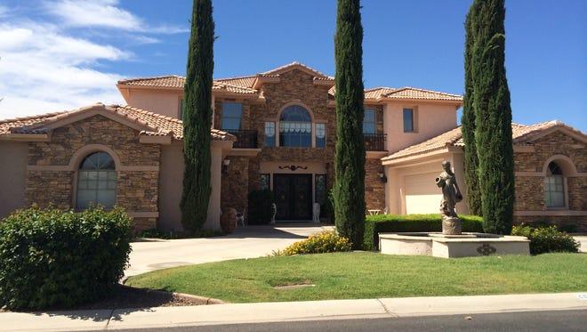A house from the Arboleda neighborhood in Mesa.