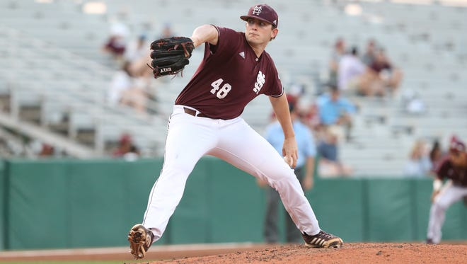 Konnor Pilkington worked without his best stuff against Alabama on Thursday.