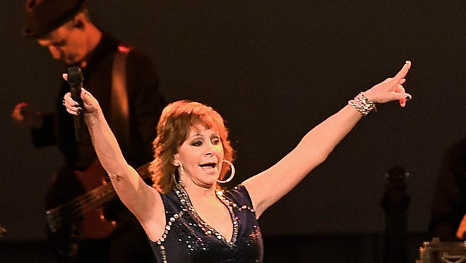 Reba McEntire performs at the Swan Ball at Cheekwood on June 4, 2016.