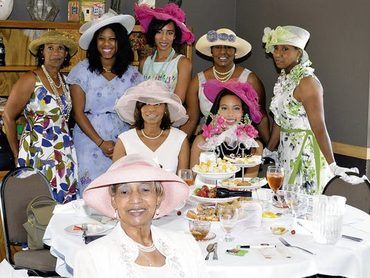 Johnelle Satcher celebrated her 85th Birthday with a tea party on August 1, 2015, at the Desert Lakes Golf Course in Alamogordo. Pictured below is Johnelle Satcher, four out of five of her daughters and her three granddaughters. In attendance were many special relatives and friends.