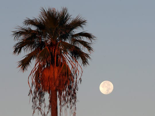 Last week's supermoon appeared about 15 percent larger and 30 percent brighter than a typical full moon.