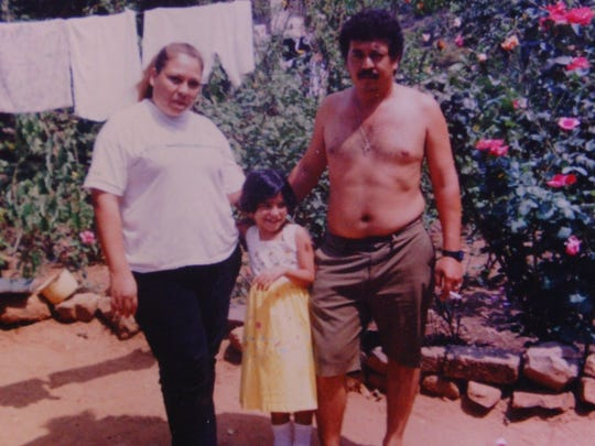 This photograph was found on the body of an unidentified migrant who was located in Imperial County in July, 2000.