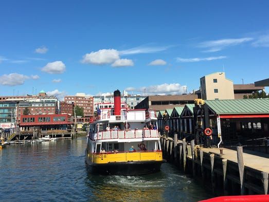 Ferry Island Cruises From Portland Maine