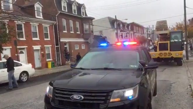 A man was shot in the leg on the 100 block of North Penn Street in York on Thursday. Police are investigating.
