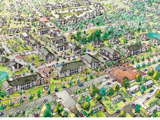 Orange Avenue Apartments Redevelopment Master Plan