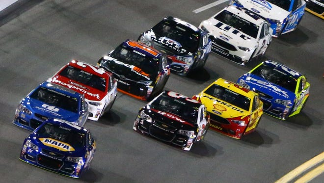 Every race will be divided into three stages in a new wrinkle to this year's NASCAR slate.
