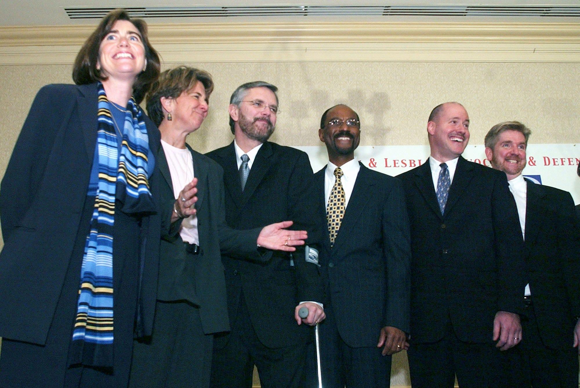 Massachusetts law on gay marriage