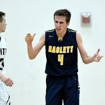 Patrick Hintz continues surge as Haslett boys basketball wraps up CAAC Red title