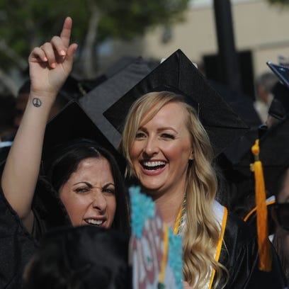 The Moorpark College commencement took place on May