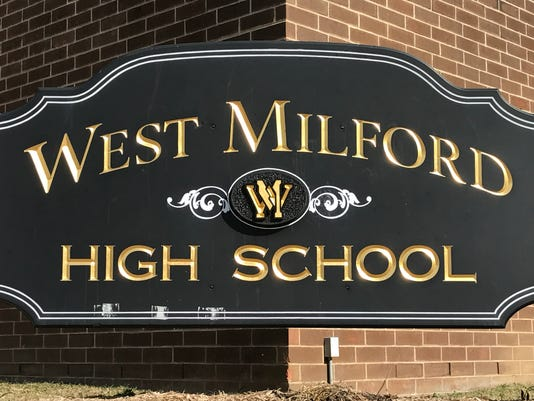 West Milford High School sign