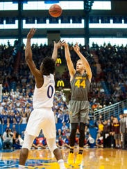 Arizona State's Kodi Justice launches a three against