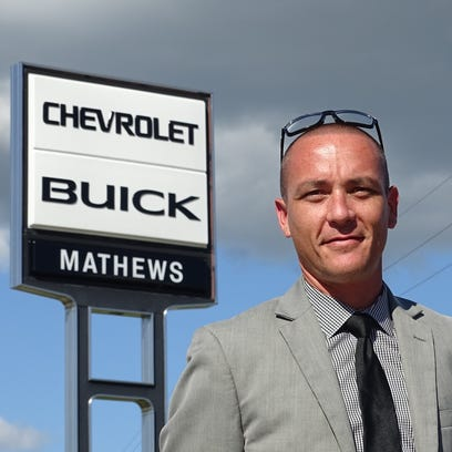 Dave Gibson, general manager of Mathews Chevrolet Buick