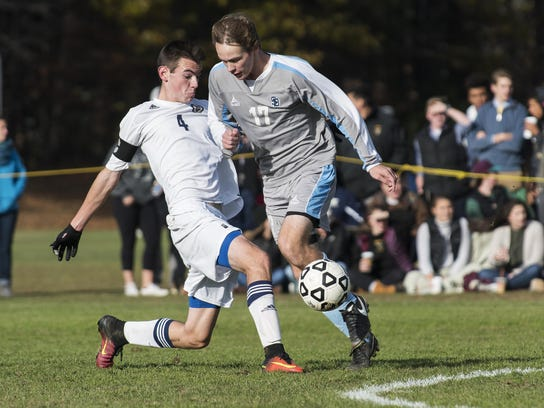 South Burlington's Patrick O'Hara (17) scored 19 goals