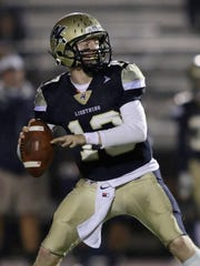Appleton North quarterback Carter Robinson is one of the top passers in the area.