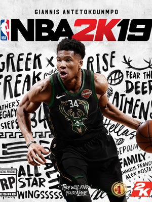 Milwaukee Bucks star Giannis Antetokounmpo wil grace the cover of the NBA 2K19 video game.