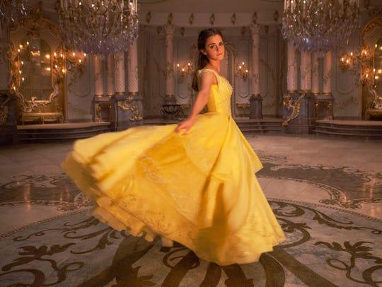 Emma Watson plays Belle in Disney's live-action 'Beauty