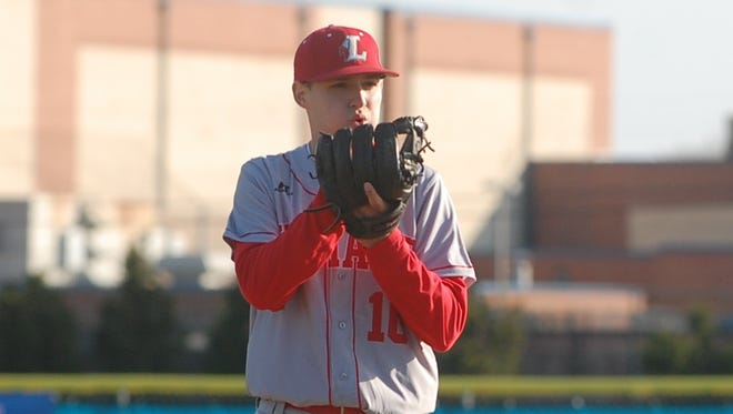 A senior right-hander, Ben Rodier is 6-0 for the Lenape High School baseball team this season.