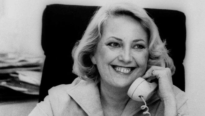 This May 1977 file photo shows Muriel F. Siebert, a then 47-year-old stock broker.