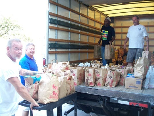 Tempe Community Action Agency's food pantry.