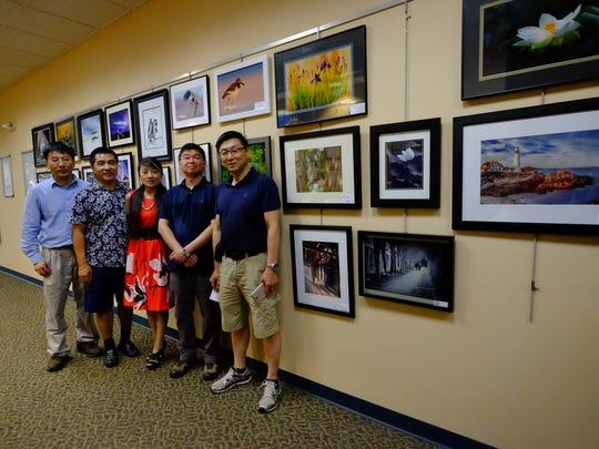Left to right: executive members Yuefei Shao, Bo Wang, Hui Yang, Kah-Wai Lin, and Xiaoke Wang.
