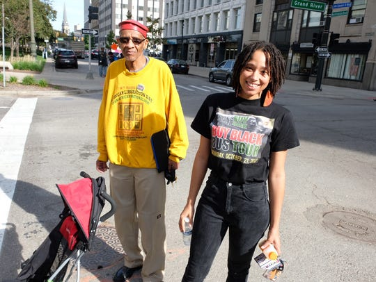 Mike Anderson, 69, and organizer of the Buy Black bus