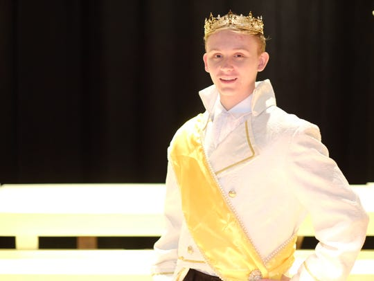 Liam Devlin stars as Prince Topher in Somerville High