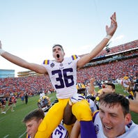 Tracy's kick may be LSU's first ever game-winning field goal on last play of regulation