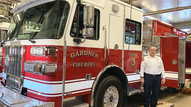 Gardner Fire Chief Richard Ares
