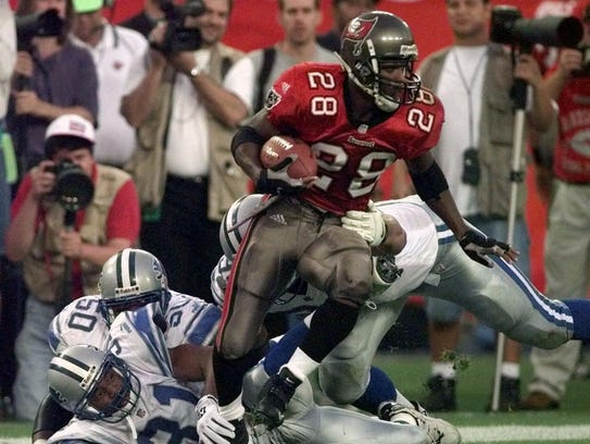 Warrick Dunn is being inducted into the Florida Sports