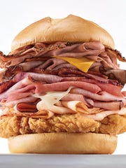 "Arby's is focusing on what the chain calls ""the meats"""
