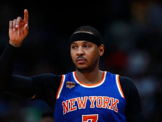 Criticism of Knicks forward Carmelo Anthony was the