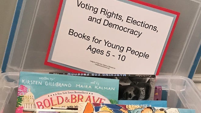 """The League of Women Voters of Brookline recently prepared a resource titled """"Voting Rights, Elections and Democracy: Books for Young People."""""""