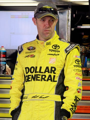 Sprint Cup Series driver Matt Kenseth says he feels