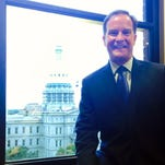 """""""Big Lessons from a Small Town,"""" a book written by Attorney General Bill Schuette, will reveal the origins of Schuette as a waiter."""