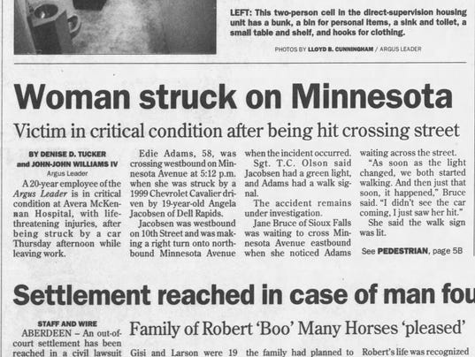 From the archives: Woman struck on Minnesota Avenue