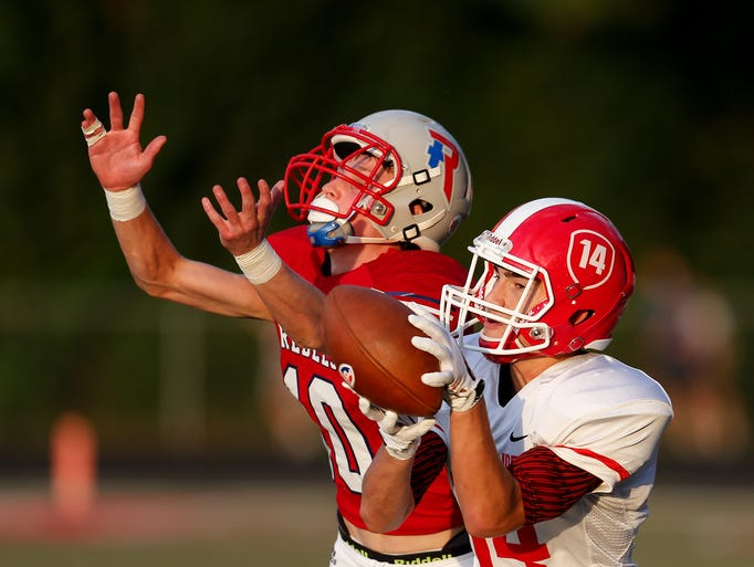 Class 5A No. 1 Roncalli overcame an early deficit to